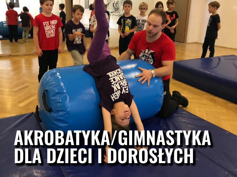 akrobatyka warszawa dzieci dorośli